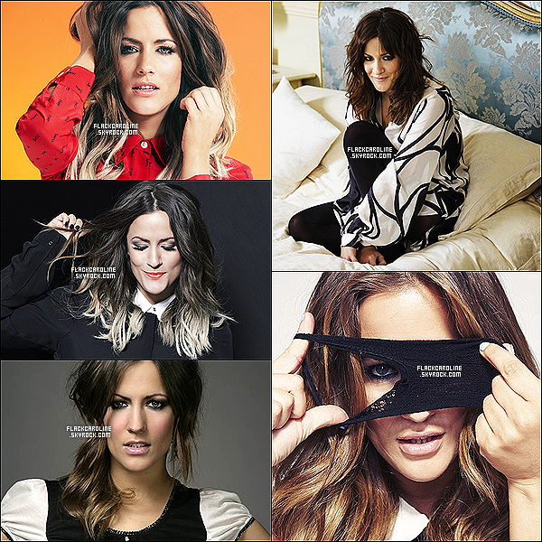 PHOTOSHOOT || Découvre quelques photoshoots de la belle  Caroline Flack.