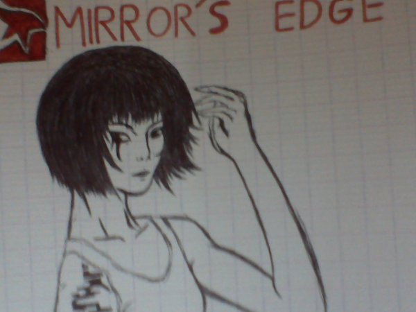 Dessine-Gaming : Faith ( Mirror's Edge )