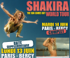 Une date supplémentaire pour Shakira à Bercy
