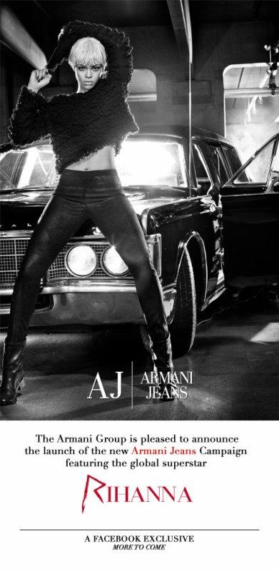 Rihanna - Pour Armani Jeans