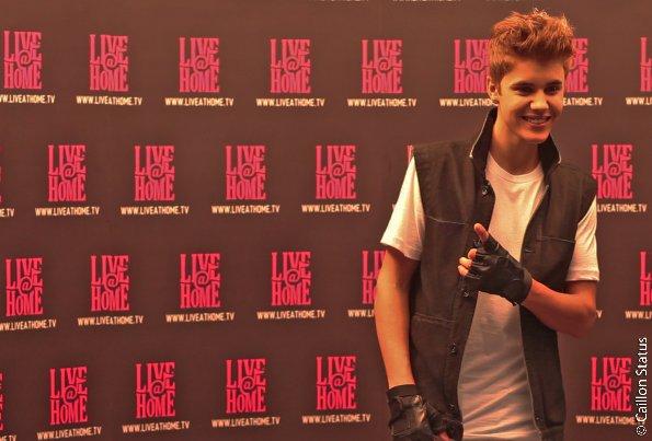 Justin Bieber, sur le toit de Paris !