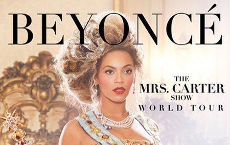 Beyoncé en concert à Paris