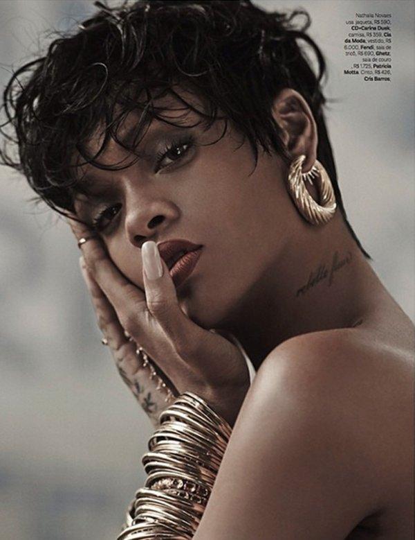 Rihanna pour Vogue Brésil