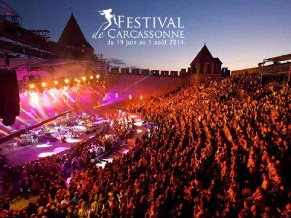 Le festival de Carcassonne du 19 juin au 1er août !