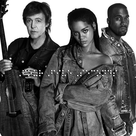 Rihanna feat. Kanye West & Paul McCartney : Four Fives seconds