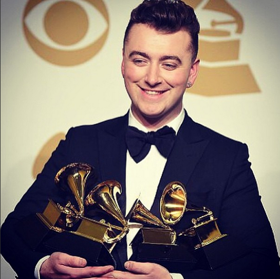Sam Smith, grand gagnant des Grammy Awards