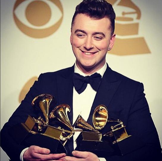 Sam Smith, grand gagnant des Grammy Awards