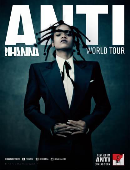 Rihanna - Anti World Tour