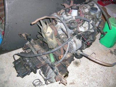 Le moteur.