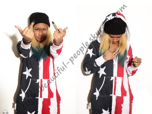Dani Phae - combinaison Flag USA