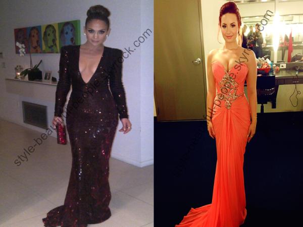 J'aime beaucoup le style de leur robe