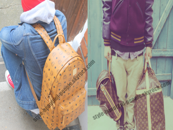 MCM vs LOUIS VUITTON .