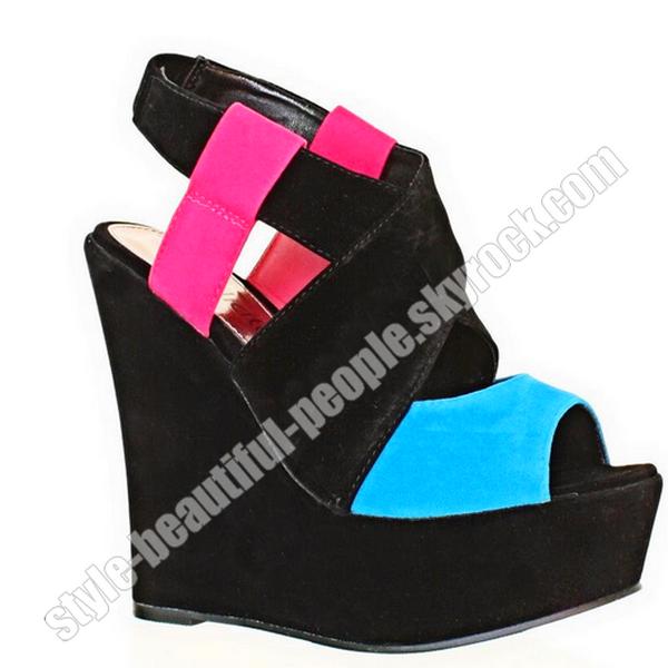 Shoes compensée !