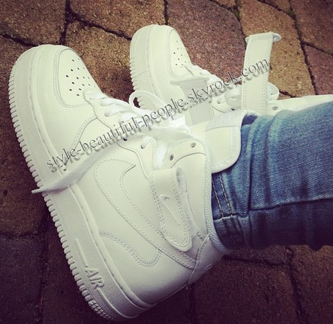air force one blanche haute
