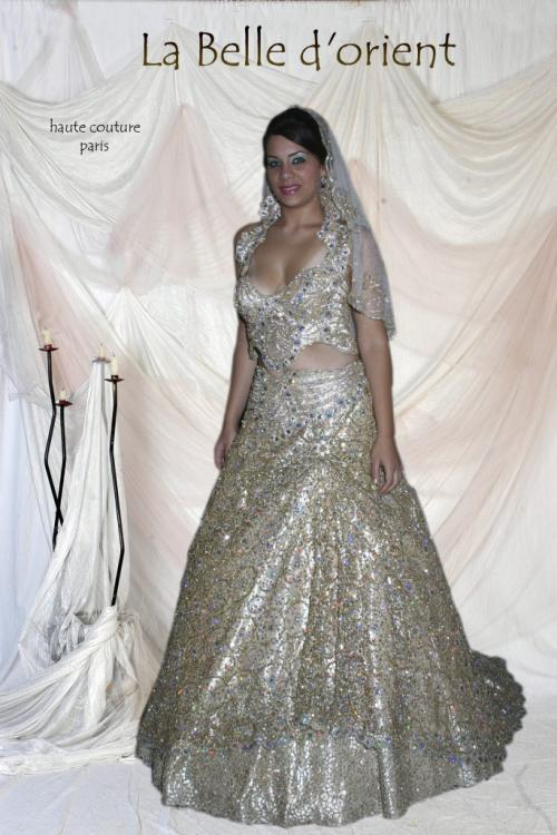 Favori Location Robe de mariée tunisienne - keswa- robe de princesse - LA  RT35