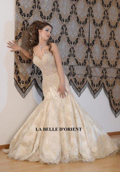 Location Robe de mariée tunisienne , keswa, robe de princesse , LA BELLE  D\u0027ORIENT, WAFA