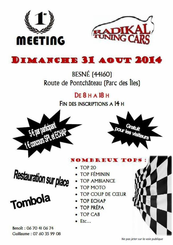 Notre meeting