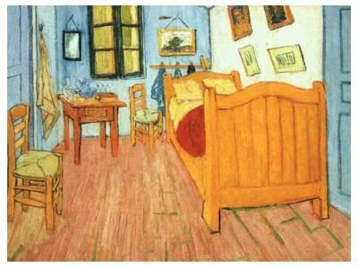 La Chambre jaune à Arles de Van Gogh - Regarde...