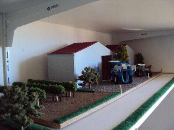 """Hangar viticole """"Le mas des Verdiers"""" avec toiture"""