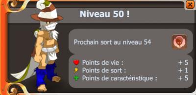 Up 50 a moi frifri ! ^^