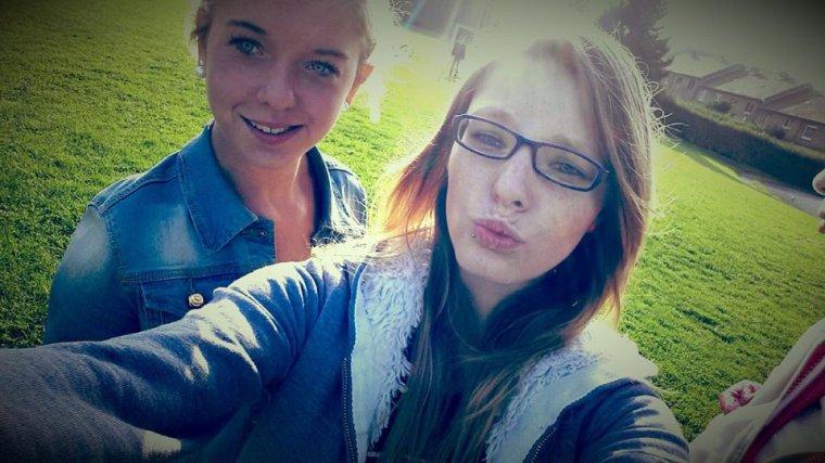 Avec la meilleure amie ! <3