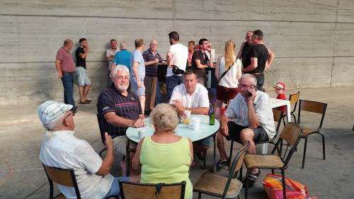 Dépouillement  Agen et mise en loges Barcelone:206 pigeons(+2).