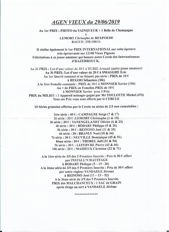 Premier national LEMORT Christophe, Rexpoede 890m.50 à 21h40:00