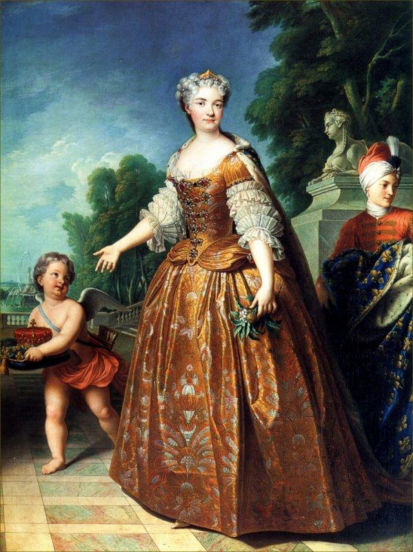 La reine Marie Leczinska
