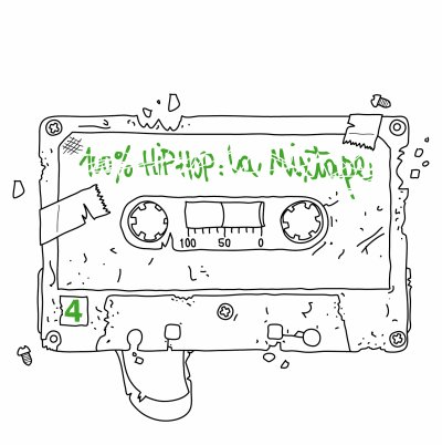 100% HipHop La Mixtape Vol.4 ®