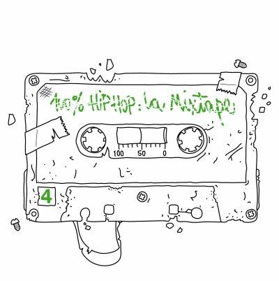 100% HipHop La Mixtape Vol.4 ®