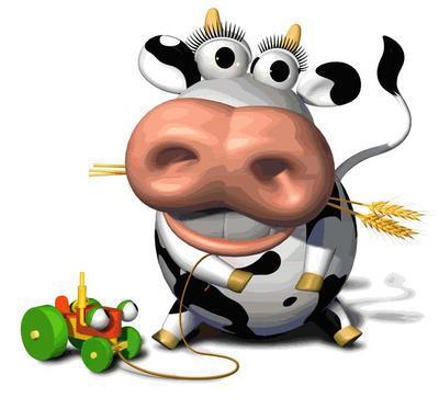 Vache marrante unik et fi re de l 39 tre - Vache dessin humour ...