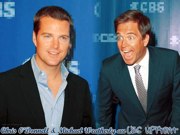 -20.05.10- Michael Weatherly et Chris O'donnell aux Upfronts de CBS en images.