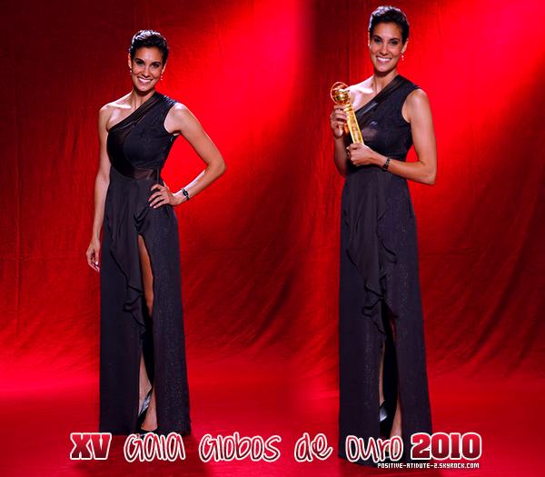 Daniela Ruah au XV Gala Globos de Ouro 2010