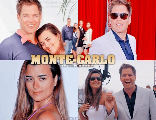 Cote De Pablo et Michael Weatherly au Festival de Monté Carlo!