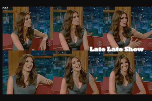 Daniela Ruah au Late Late Show