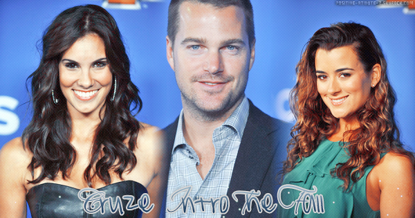 Daniela Ruah , Chris O'Donnell et Cote De Pablo au Cruze Intro  The Fall.