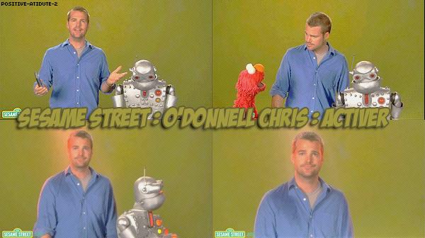 Vidéo :: Chris O'Donnell dαtαnt du 20 septembre 2010.