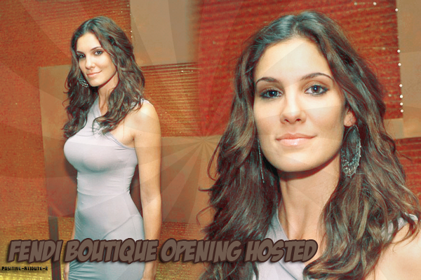 Daniela Ruah au FENDI Boutique Opening Hosted By Chloe Sevigny