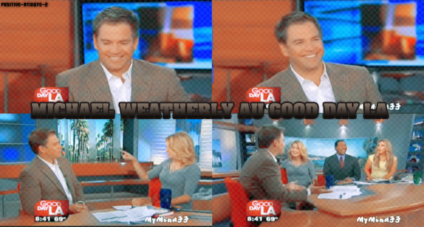 12/10/10 - NCIS - Interview de Michαel Weatherly αu Good Dαy LA.