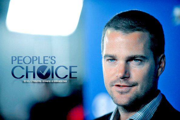 Voter Chris O'Donnell , NCIS: LA & NCIS au PEOPLE'S CHOICE AWARDS 2011