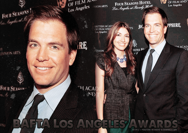 Mr & Mrs Weatherly au BAFTA Los Angeles Awards Season Tea In Association With The Four Seasons And Bom.