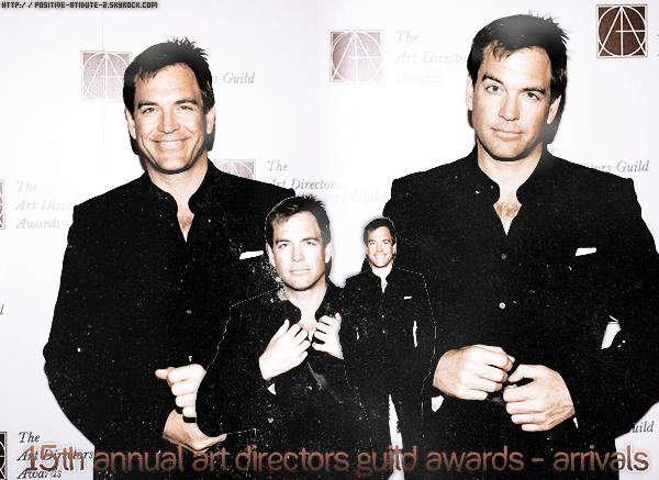 Michael Weatherly au 15ème Art Directors Guild Awards annuel - Arrivées