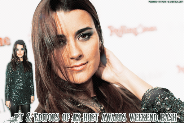 Cote De Pablo était présente au Peter Travers And Editors Of Rolling Stone Host Awards Weekend Bash - Red Carpet