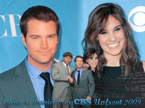 -20.05.09- Chris O'Donnell et Daniela Ruah aux Upfronts de CBS