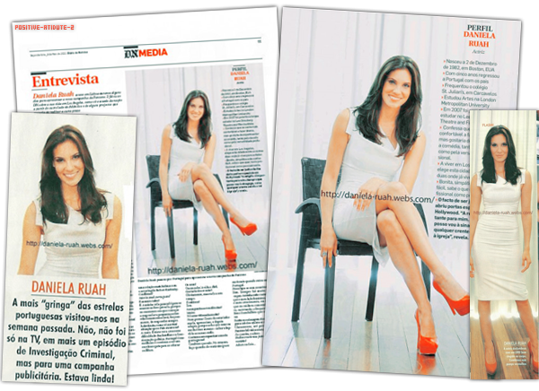 "Article Press Daniela Ruah ""Entrevsita"""