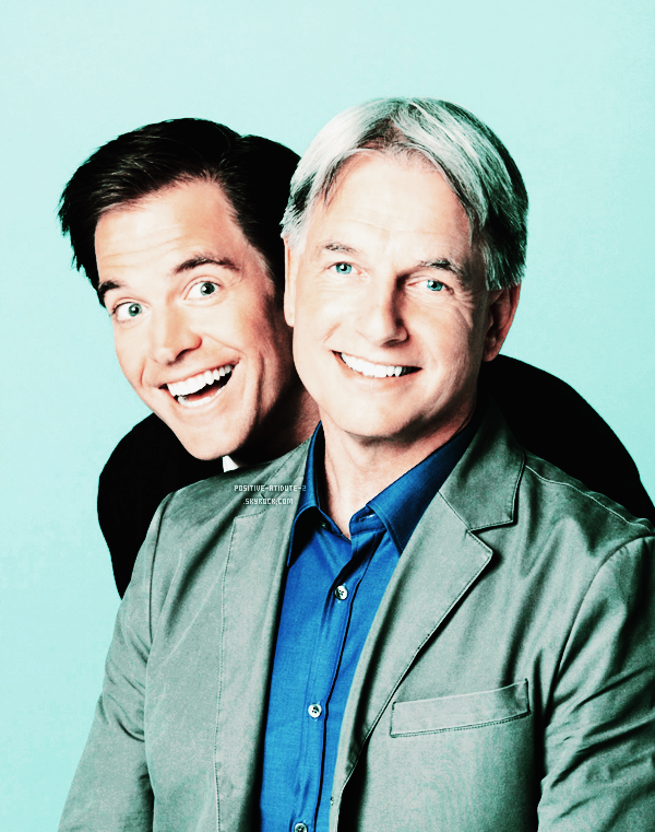 "Découvre les photos du shoot ""DUO DYNAMIC"" avec Michael Weatherly et Mark Harmon"