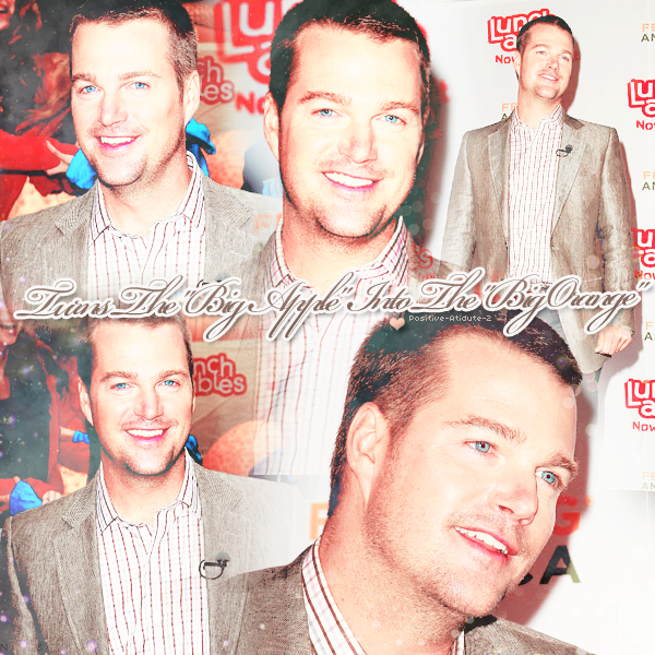 -17.05.11- Chris O'Donnell au turns the Big Apple into the Big Orange à New York