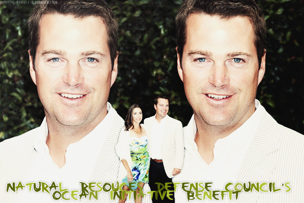 -04.06.11- Chris O'Donnell au Natural Resources Defense Council's Ocean Initiative Benefit accompagné de sa femme Caroline