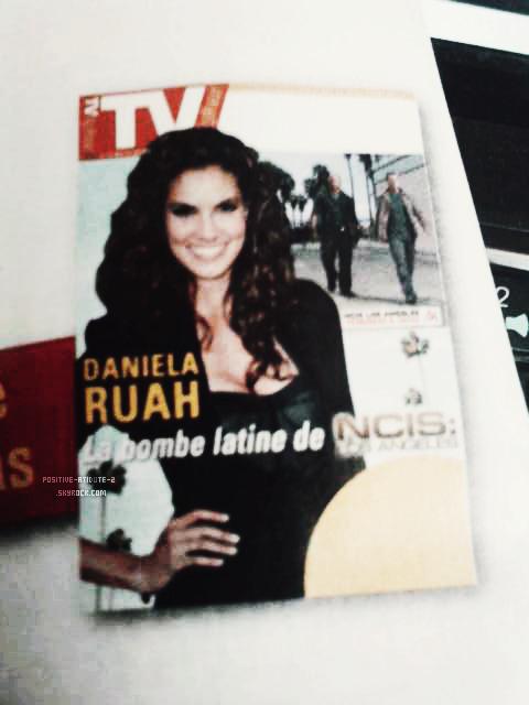 Daniela Ruah la bombe latine de NCIS Los Angeles en couverture de TV Magazine