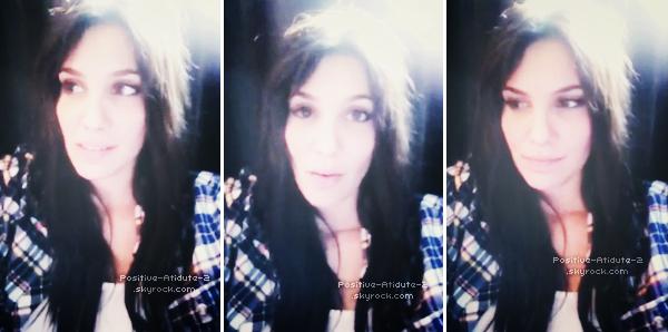 -04.12.11- 2 jours après son anniversaire Daniela Ruah à posté une vidéo nous remerciant de la vidéo